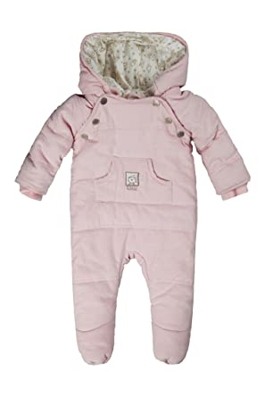 91c66ec7f Kanz Baby Girls Overall m. Kapuze 0003528 Hooded Long Sleeve Snowsuit, Pink  (Ballerina Rose 2096), 3-6 Months (Manufacturer Size: 68): Amazon.co.uk: ...
