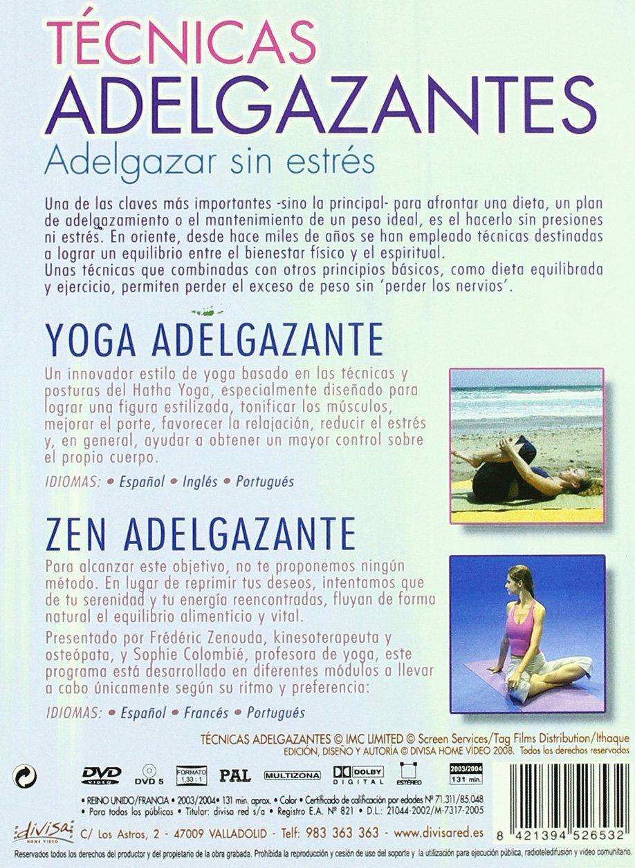Amazon.com: Pack Tecnicas Adelgazantes (2 Dvd) [DVD] (2008 ...