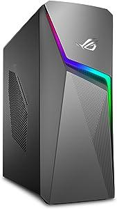 ROG Strix GL10DH Gaming Desktop PC, AMD Ryzen 7 3700X, GeForce GTX 1660 Ti, 16GB DDR4 RAM, 512GB SSD + 1TB SSD, Wi-Fi 5, Windows 10 Home, GL10DH-PH762