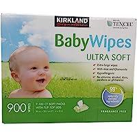Kirkland signature Tencel Baby Wipes 18 X 20 cm(900 Count)