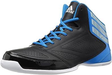 Adidas Men's 3 Series 2013 Black Basketball Shoes 10 UK