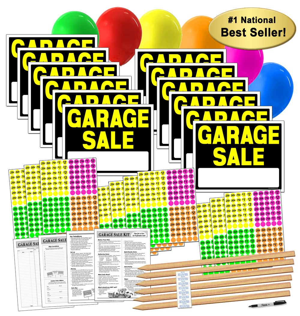 of view image garage stock close generic photo denomination stickers advertising sale various