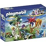 Playmobil - Isla perdida con Alien y Raptor, playset (6687)