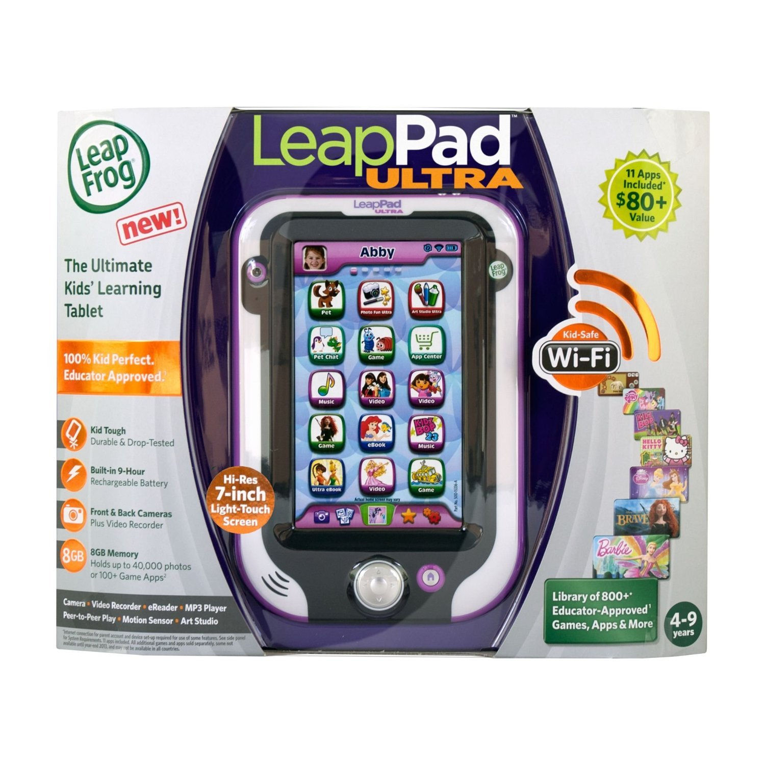 Amazon leapfrog leappad ultra xdi kids learning tablet amazon leapfrog leappad ultra xdi kids learning tablet styles may vary toys games fandeluxe Choice Image