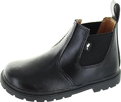 f7c87d01 Chipmunks Boys'' Ranch Chelsea Boots Black, 5 Child UK 22 EU: Amazon ...