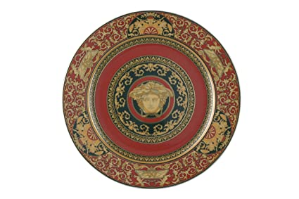 Versace by Rosenthal Medusa Red Service Plate  sc 1 st  Amazon.com & Amazon.com | Versace by Rosenthal Medusa Red Service Plate: Versace ...