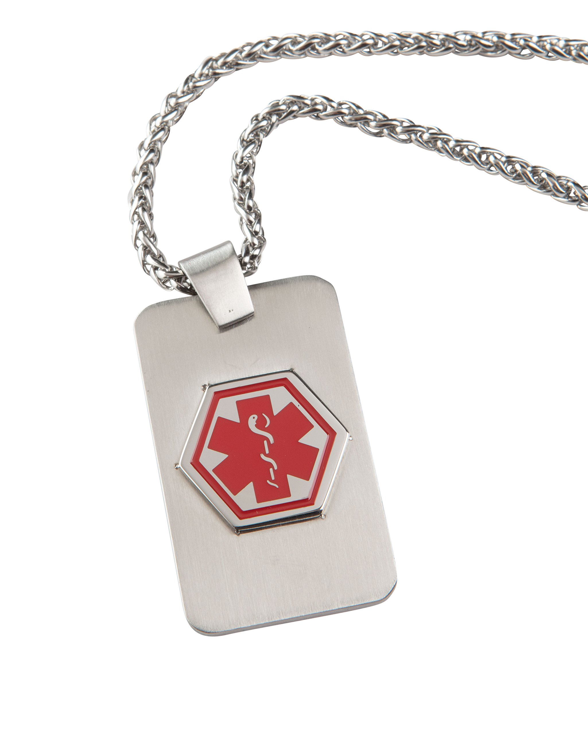 My Conditions Med ID Necklace