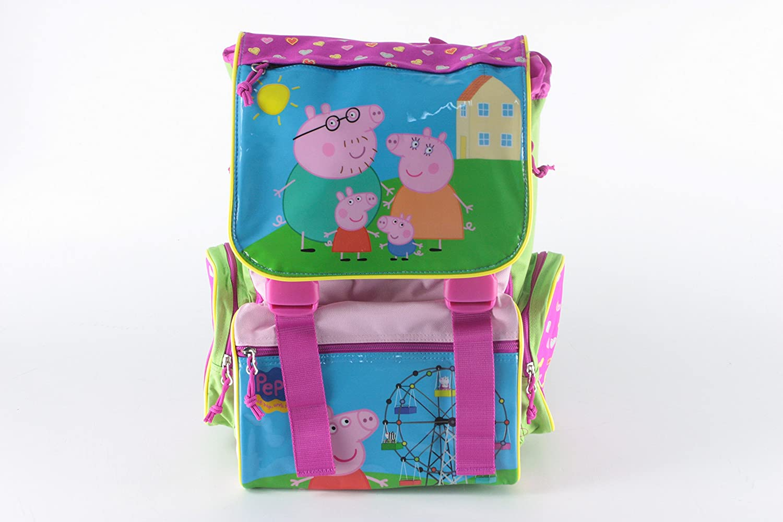 Mochila escolar extensible Peppa Pig 41x30x13 cm (8): Amazon.es: Juguetes y juegos