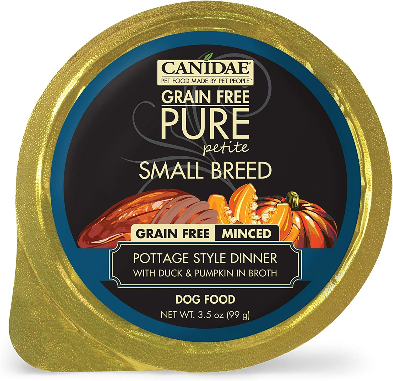 CANIDAE Petite Small Breed, Limited Ingredient Grain Free Wet Dog Food