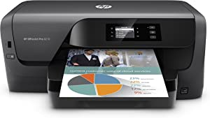 HP OfficeJet Pro 8210 Wireless Color Printer, HP Instant Ink & Amazon Dash Replenishment ready (D9L64A) (Renewed)