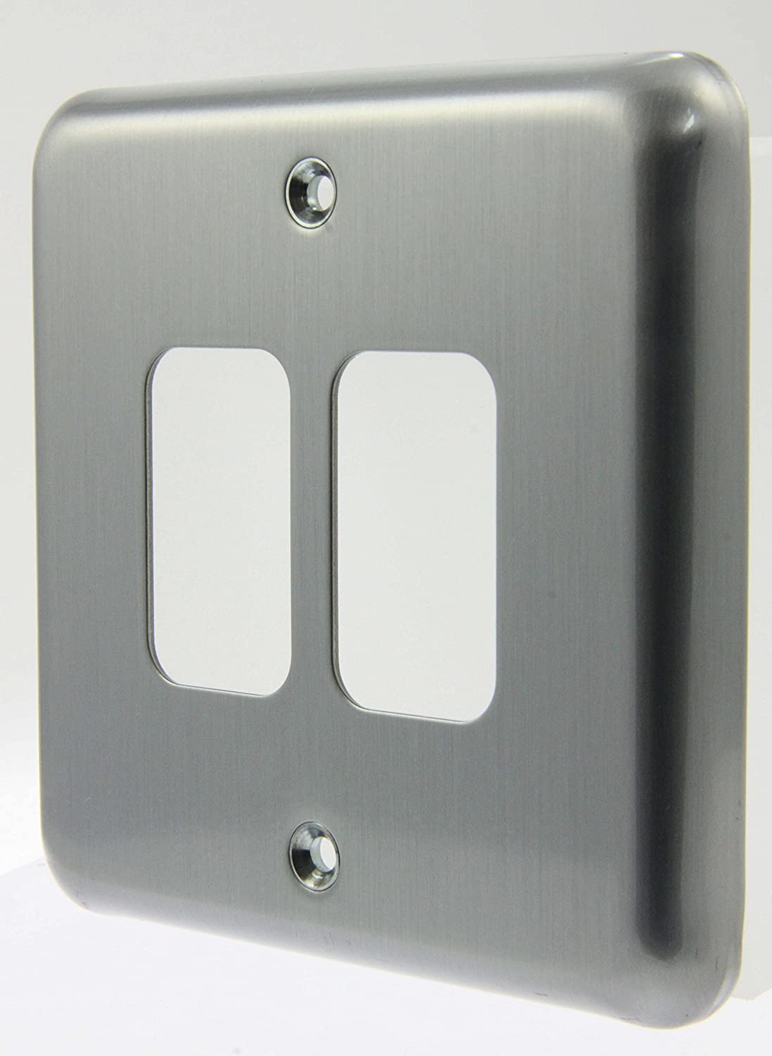 K3432 MCO 2 Modual Grid Switchplate New MK Albany//Grid Plus