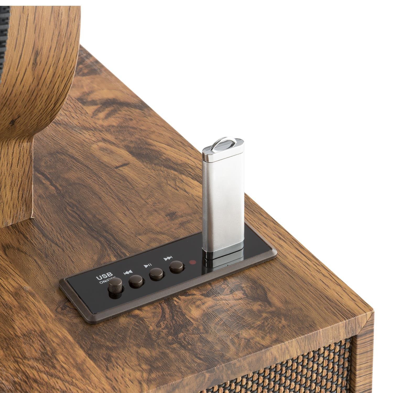 auna Verticalo S Tocadiscos con Altavoz: Amazon.es: Electrónica