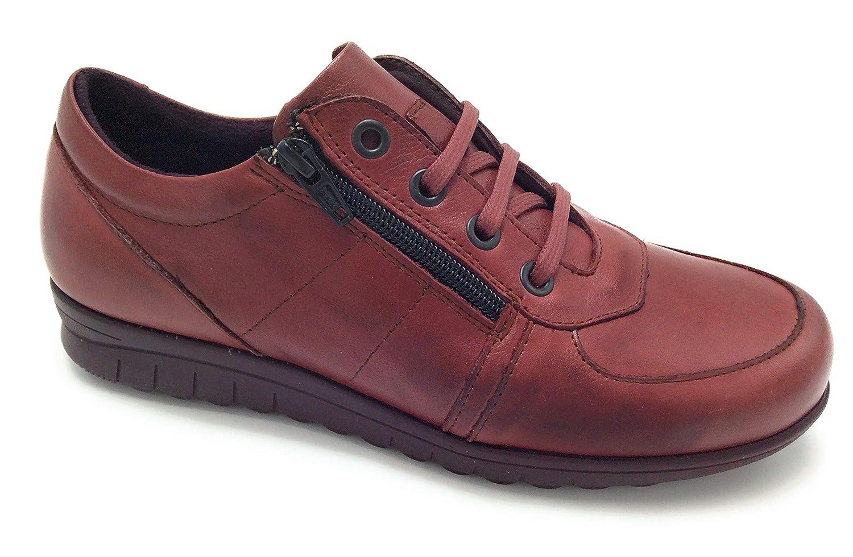60069 Pitillos PITILLOS 2980 Zapato Cordones y Cremallera Burdeos