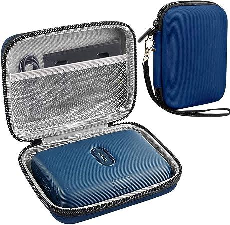 Schutzhülle Für Fujifilm Instax Mini Link Smartphone Dark Denim Dunkles Jeansblau Elektronik