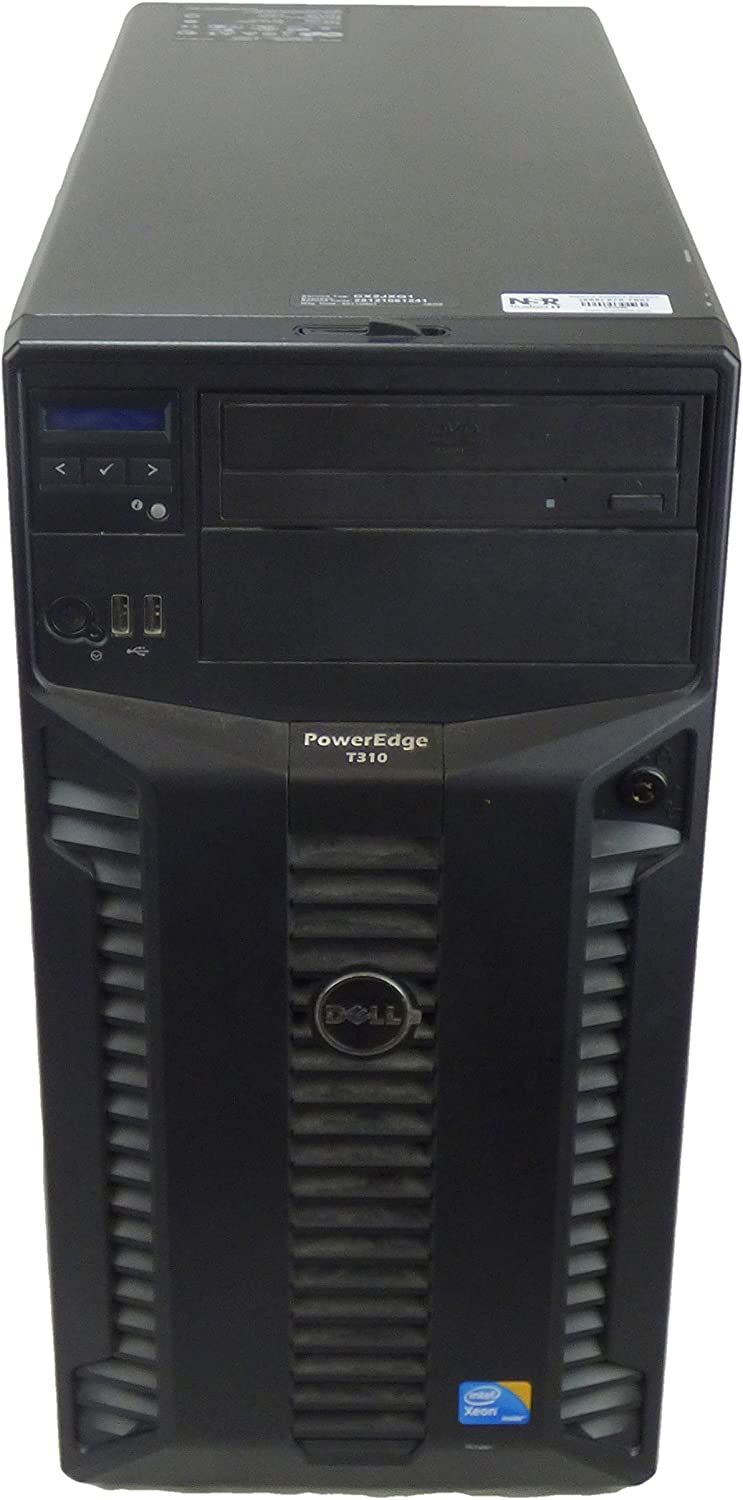 Dell PowerEdge T310 Tower Server (Intel Xeon X3430, 2.4 GHz, 8M Cache)