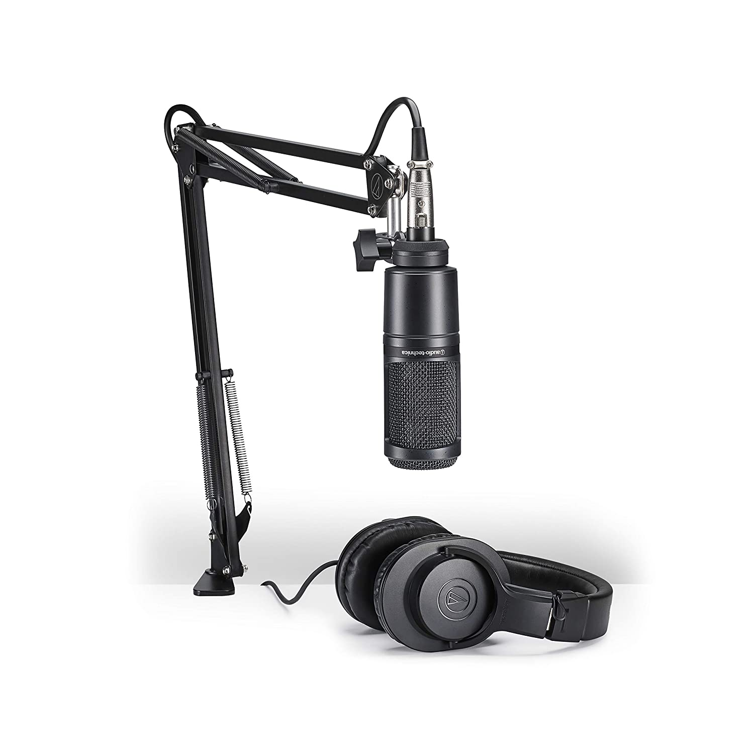 Pack de microfono Audio-Technica AT2020PK para streaming xmp
