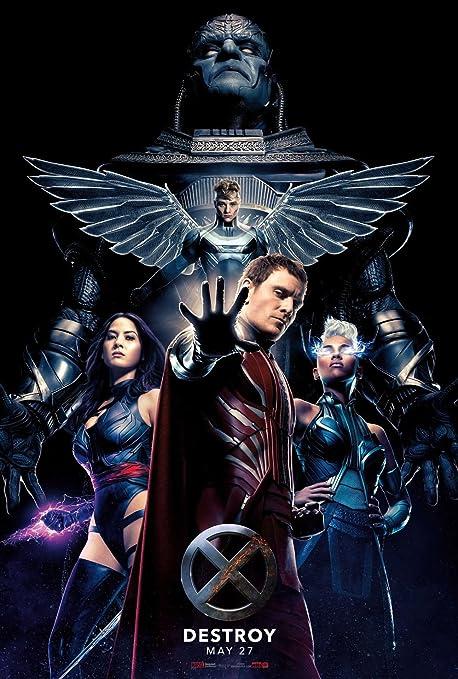 Amazon.com: Kirbis X-Men Apocalypse Movie Poster 18 x 28 Inches: Posters &  Prints