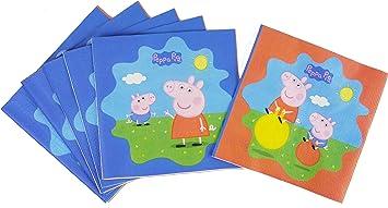 DYNASTRIB- Peppa Pig Toallas, Multicolor, 33 X 33 CM ...
