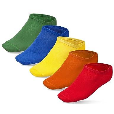 Prime Socks Calcetines Cortos Hombre y Mujer - 10 Pares