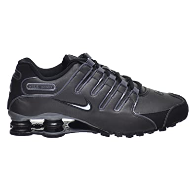 Nike Shox NZ SL Men s Shoes Black Flint Grey 366363-006 (8 D 4b05369e2