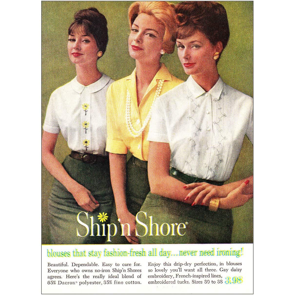 Amazon Com Relicpaper 1960 Ship N Shore Blouses That Stay Fashion