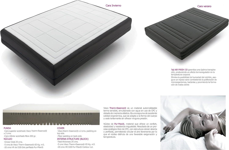 Mattress Memory Foam Oslo 180 X 190 Cm Amazon Co Uk Health
