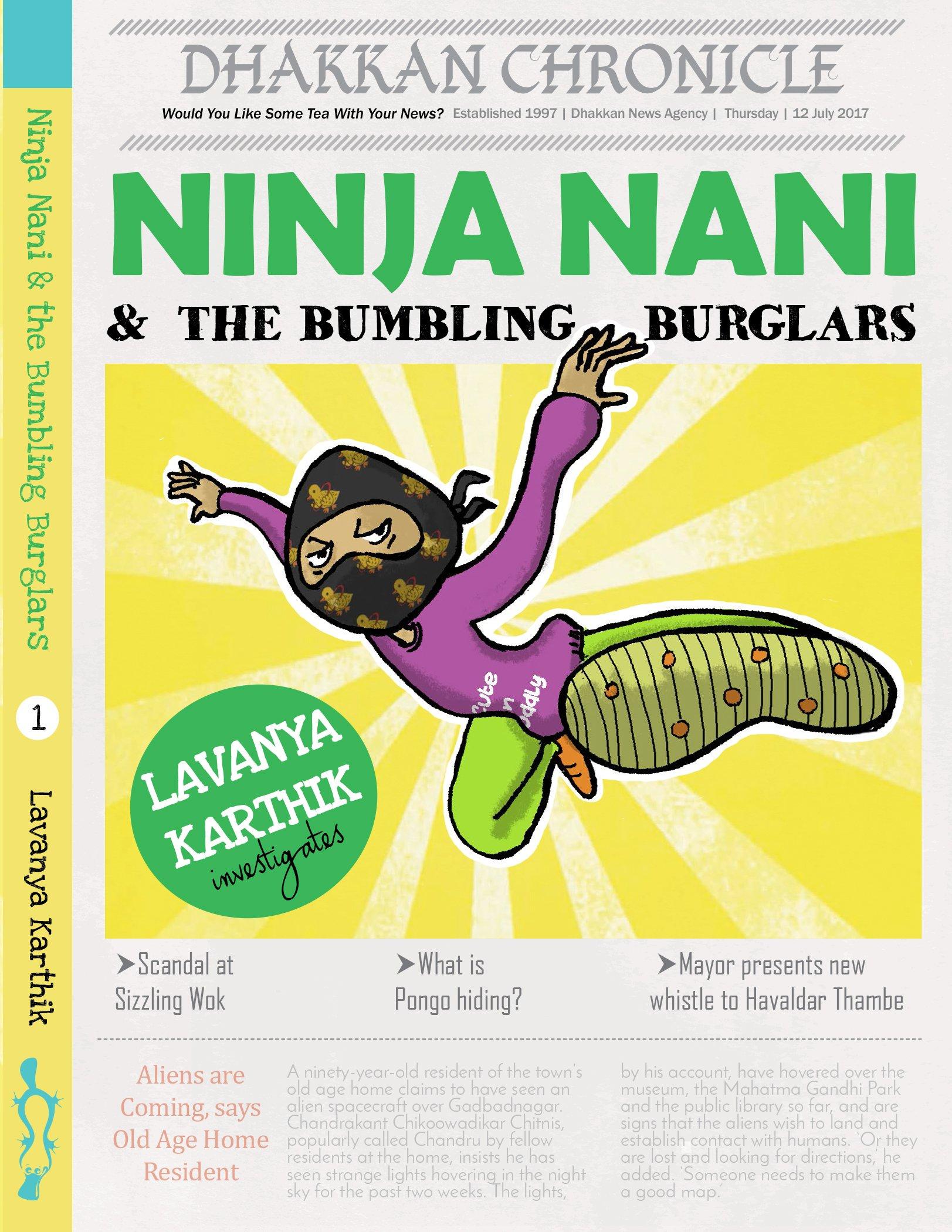 Ninja Nani & the Bumbling Burglars [Paperback] Lavanya ...
