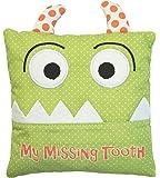 Little Boy's Green Tooth Fairy Pillow by Almas Designs