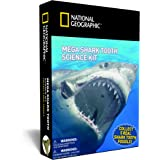 Mega Shark Tooth Science - Collect 5 Real Shark Teeth with NATIONAL GEOGRAPHIC