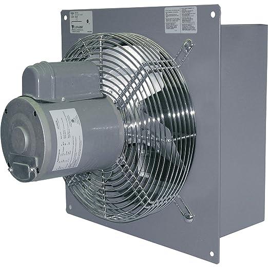 81IDY7HL4OL._SX522_ canarm wall exhaust fan 18in , single speed, 1 3 hp, model s18  at honlapkeszites.co