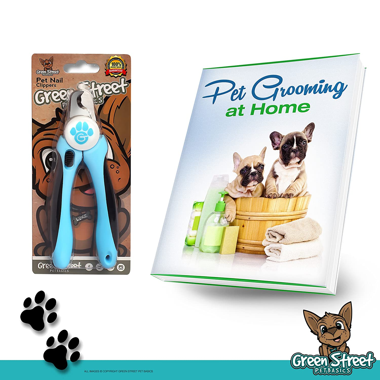 Amazon Green Street Pet Basics Dog Nail Clippers with Nail File