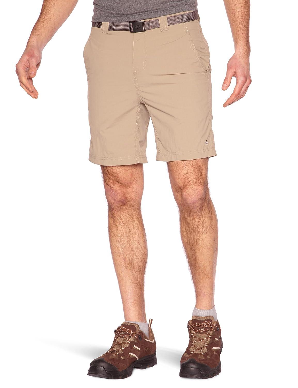 Columbia Silver Ridge Short AM4283 Shorts, Hombre, Beige (Tusk), 30