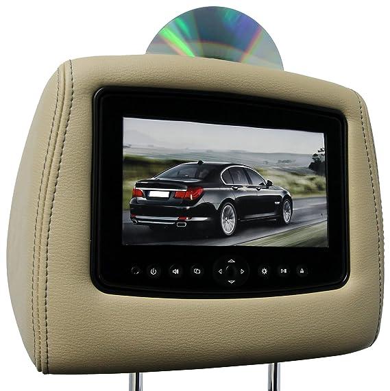 Amazoncom CarShow By Rosen CSFDFTS Single DVD Headrest - Car show headrest monitors