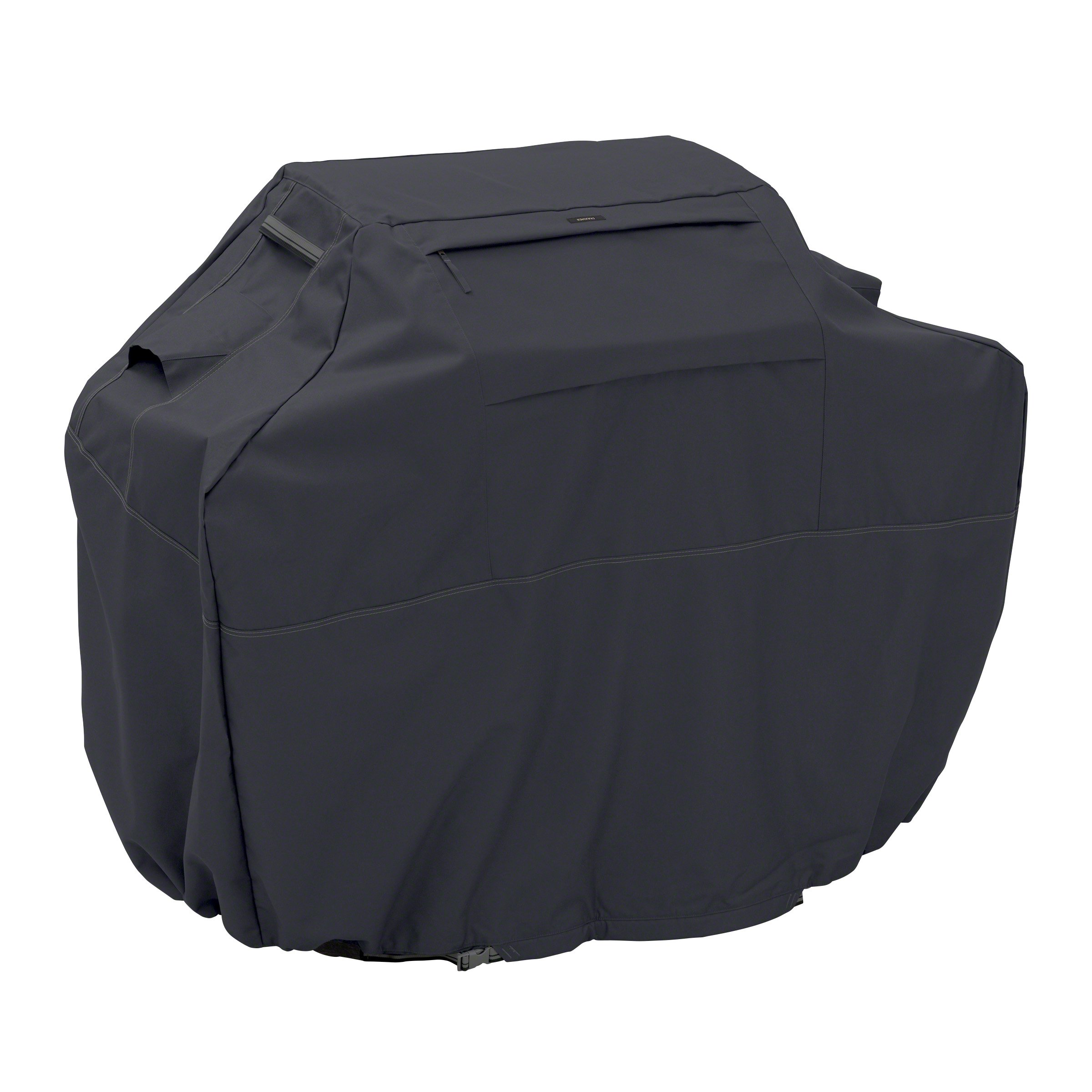 Classic Accessories Ravenna Grill Cover - Premium BBQ Cover with Reinforced Fade-Resistant Fabric, Large, 64-Inch