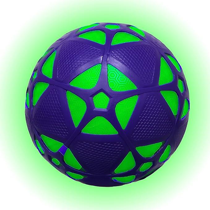 Swimways 6038062 – Pelota de fútbol Luminosa reactorz, Colores ...