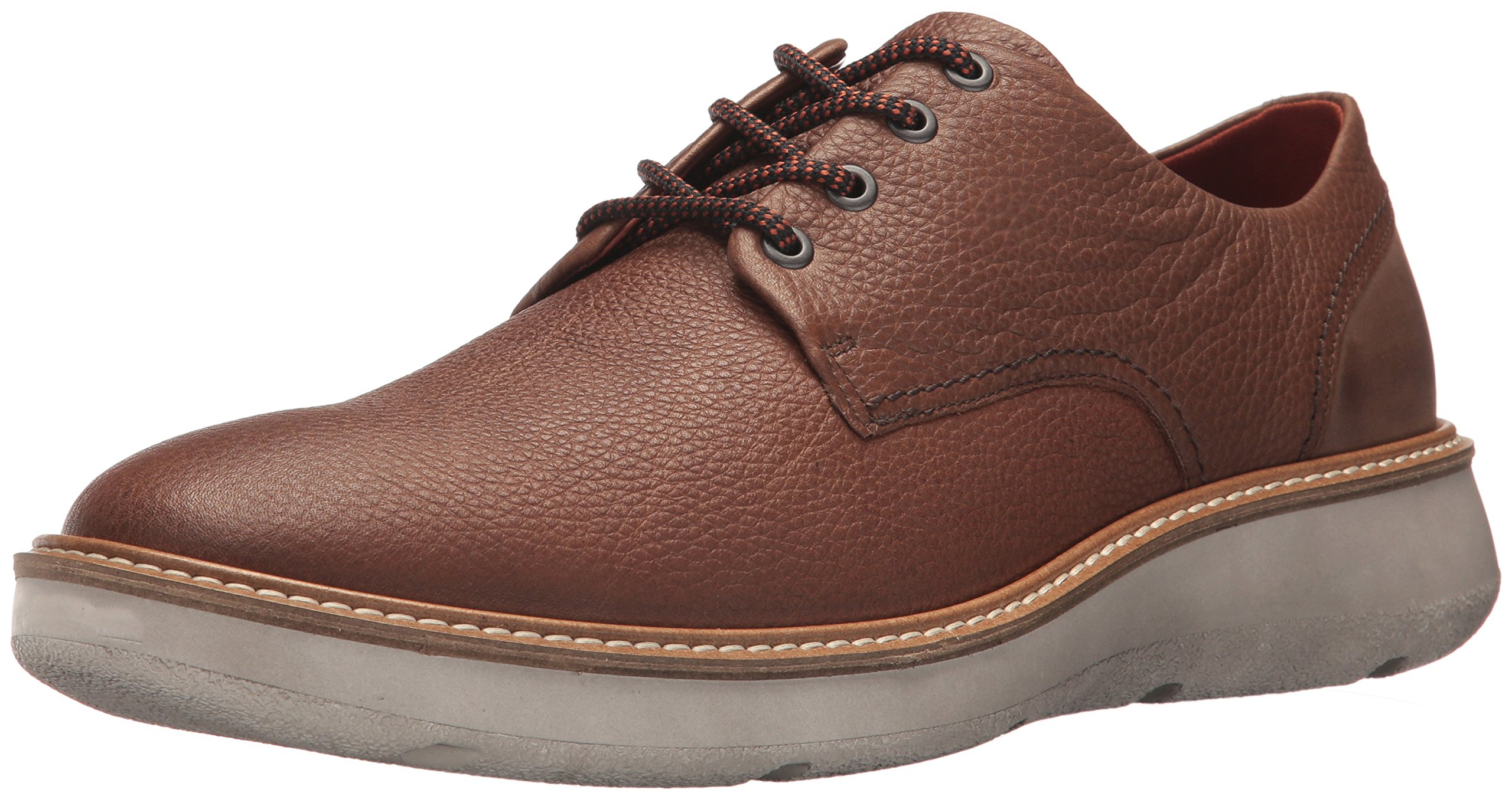 ECCO Men's Aurora Tie Oxford, Cocoa Brown/Cocoa Brown, 45 M EU/11-11.5 D(M) US