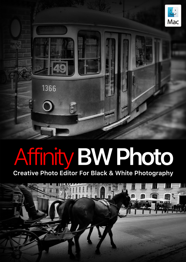 Affinity BW Photo - Creative Photo Editor For Black & White Photography - Black Opacity