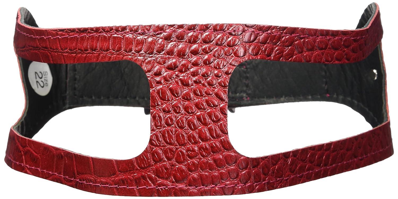Croco Red 22\ Croco Red 22\ ChokeFree Pet Shoulder Collar, 22 , Croco Red