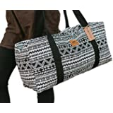 Canvas Duffel Bag - 20 Liter Gym Tote, Eco-Friendly Overnight Travel Weekend Luggage by Lemur Bags