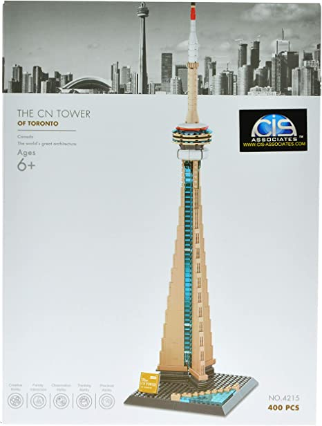 Wange World Architecture Toronto Canada National Tower 400pcs