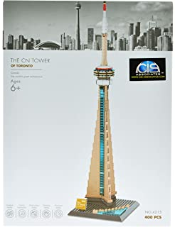 """Size 11.5/"""" Inch Height Large Metal Souvenir. TORONTO CANADA CN TOWER Extra"""