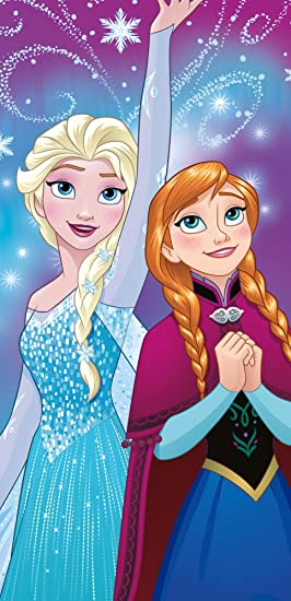 "Disney Niños Toalla – Frozen – La Reina De Hielo – Frozen ""Diseño"