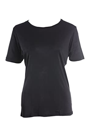 d44b2416b2a983 SUPERIOR NATURALS, T-Shirt, Damen, Rundhals, 100% Seide, Interlock ...