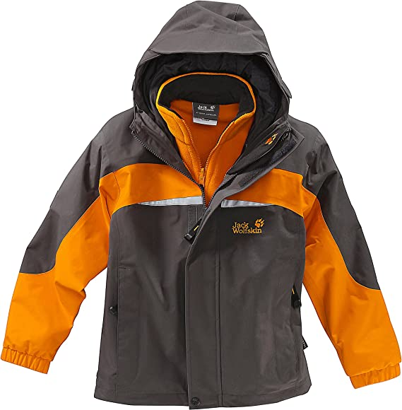 Jack Wolfskin Kinder 3 In1 Jacke Little Giant