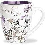 Mark My Words 66341 Friends Ceramic Mug, 20 oz Pavilion Gift Company, Multicolored