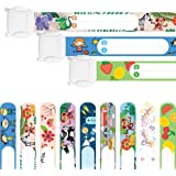 Notfallarmband für Kinder · 3 Stück · Sicherheitsarmband · Wasserfest · Wiederverwendbar · SOS Armband · Gemischt · Tampen Haushalt · inkl. Zufriedenheitsversprechen