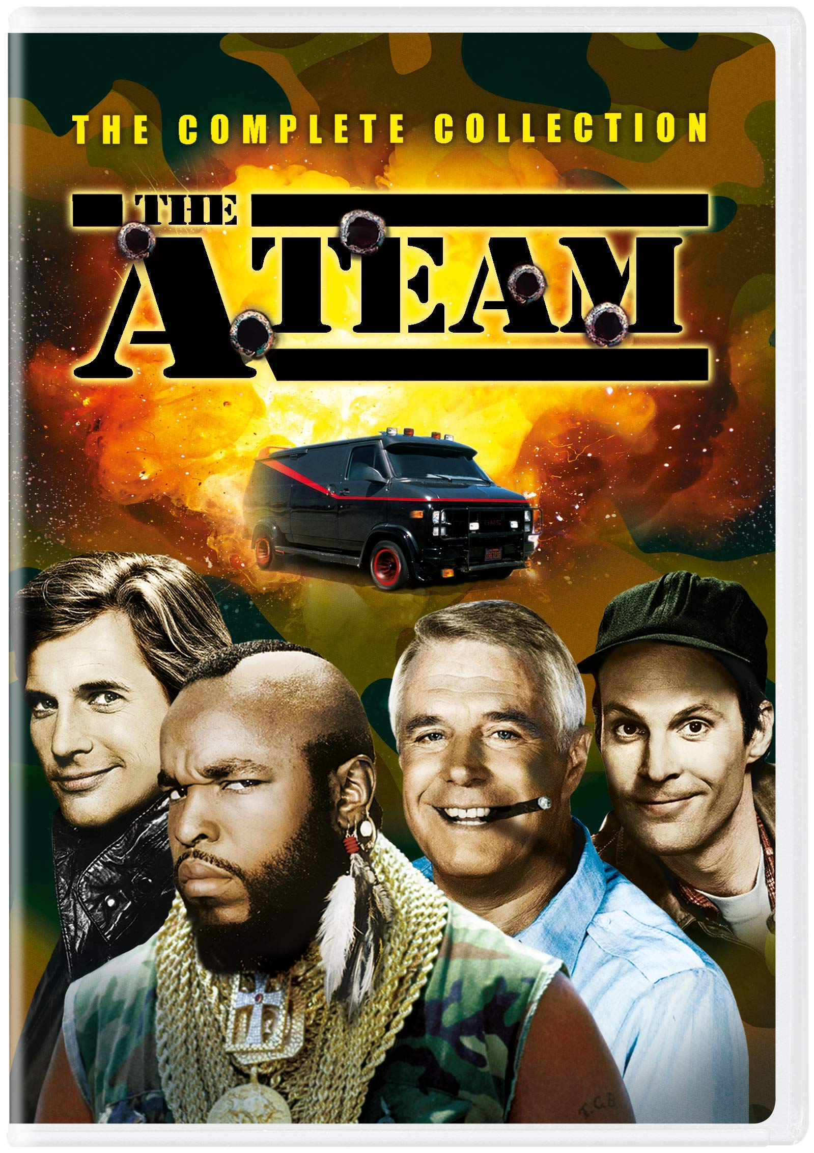 DVD : The A-team: The Complete Collection (Boxed Set)