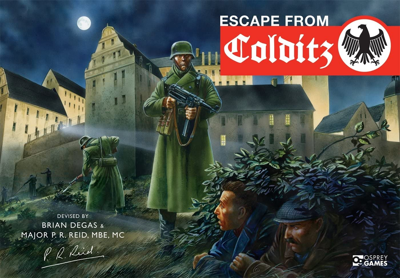 Escape from Colditz (Osprey Games): Degas, Brian, Reid, Pat ...