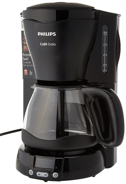 Acquisto Philips HD7567/20 Macchina da caffè Americano Gaia, 15 Cups, Nero Prezzi offerta
