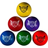"Franklin Sports 6 Pack of 6"" Superskin Dodge Balls"
